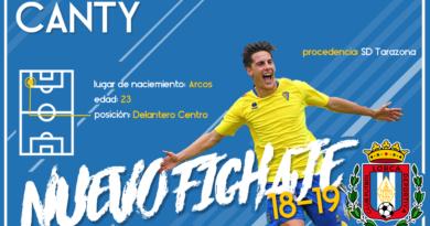 Canty, nuevo jugador del Lorca Deportiva
