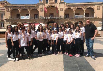 El Alcalde felicita a las deportistas del Club Gymnos Ciudad del Sol Lorca tras conseguir el 1er y el 3er puesto en el Campeonato del Mundo de Gimnasia Estética por Equipos