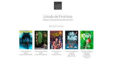 El musical «La Dama y el Vagabundo» finalista como mejor musical familiar en los prestigiosos Premios del Teatro Musical