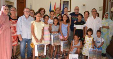 Águilas acoge un verano más a los niños y niñas del programa Vacaciones en Paz