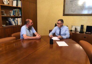 El alcalde se reúne con el presidente de la Confederación Hidrográfica del Segura (CHS), para tratar asuntos relacionados con la gestión de recursos e infraestructuras hídricas de su competencia en este municipio