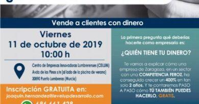 La conferencia gratuita «¿dónde está la pasta?» ayudará este viernes a empresarios locales a vender más