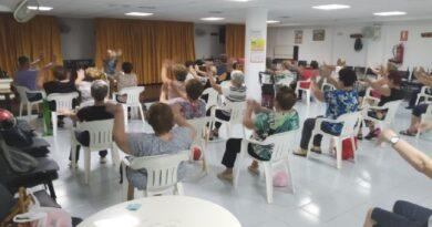 Se pone en marcha el programa de Gimnasia en los Centros Municipales de Personas Mayores de Totana y El Paretón