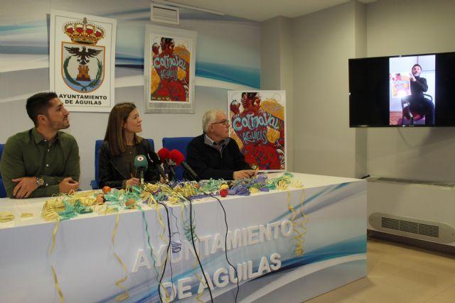 Fernando Tejero será el pregonero del Carnaval de Águilas 2020