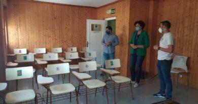 El Ayuntamiento acondiciona la Escuela de Música de Puerto Lumbreras, que comienza con todos los protocolos de seguridad frente al COVID-19