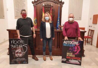 El Ayuntamiento de Lorca organiza para la 'Noche de Brujas' un espectáculo teatral de terror en el Huerto Ruano y una sesión de autocine en el Huerto de la Rueda