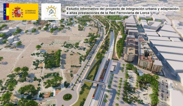 El estudio informativo definitivo del soterramiento del AVE en Lorca se incrementa hasta los 3,5 kilómetros