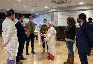 El Ayuntamiento de Lorca habilitará el Complejo Deportivo Felipe VI para una nueva jornada de vacunación masiva destinada a personal docente