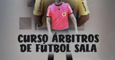 Curso para árbitro de Fútbol Sala, organizado por el Patronato Deportivo Municipal de Águilas