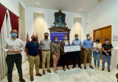 La carrera solidaria 'Corre X Lorca', organizada por la Concejalía de Deportes, logra recaudar 2.000 euros para Cáritas